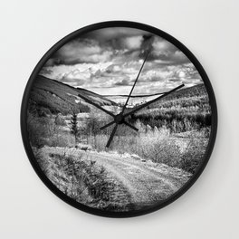 Woodland Valley Wall Clock
