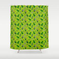 Lia 2 Shower Curtain