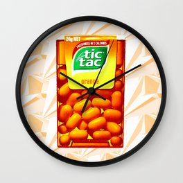 TIC TAC Wall Clock