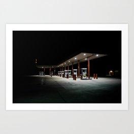 Gas Light  Art Print