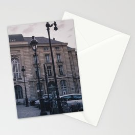 Parisian Lampposts Stationery Cards
