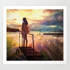 At the Water's Edge Art Print