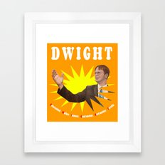Dwight Schrute  |  The Office Framed Art Print