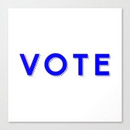 Vote Baby Vote 040416 Canvas Print