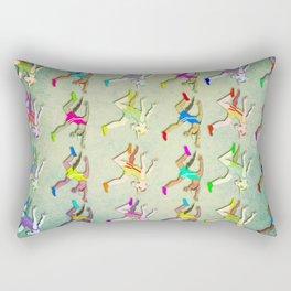 Track Unicorn Pattern Rectangular Pillow