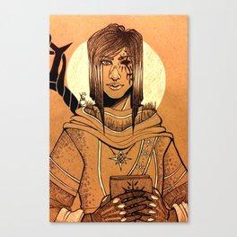 Fallen-Adal Canvas Print