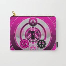 One Love (Pink) Carry-All Pouch