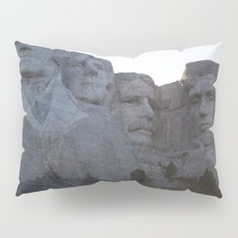 Mount Rushmore Pillow Sham