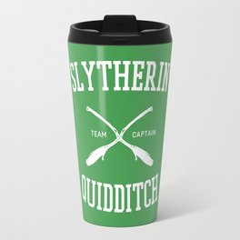 Hogwarts Quidditch Team: Slytherin Travel Mug