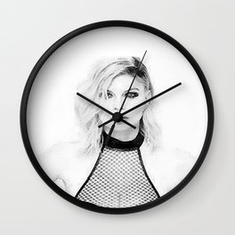 Fergie hungry Wall Clock
