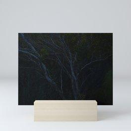 marine forest at dusk Mini Art Print