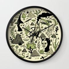 Verdant Graveyard Wall Clock
