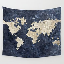 Shattered world Wall Tapestry