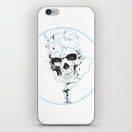 Calavera Proyecto (Skull Project) iPhone Skin