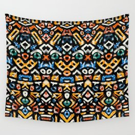 Pattern Number 12 Wall Tapestry