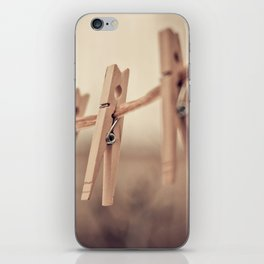 family of five iPhone Skin