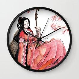 Erhu Wall Clock