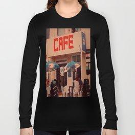 Seaside Cafe Long Sleeve T-shirt