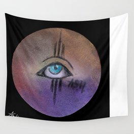 eye only II Wall Tapestry