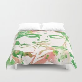 Watercolor Buddha No. 206 by Kathy Morton Stanion Duvet Cover
