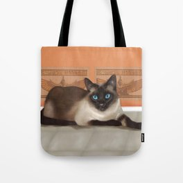 All Cats are Gods Tote Bag