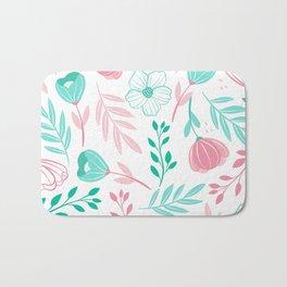 Tini Flowers Bath Mat
