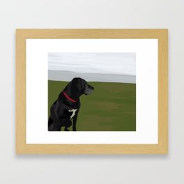 Gracie Framed Art Print