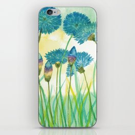 May your cornflowers never fade iPhone Skin