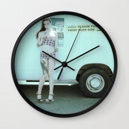 Ice Cream Popcicle Chola Wall Clock