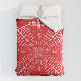 Yoga energy tribe  Comforters