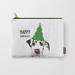 Happy Howlidays Great Dane Carry-All Pouch