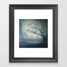 It's all there.....just listen Framed Art Print