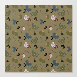 Floral Pattern 111-21CW2 Canvas Print