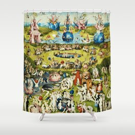 Hieronymus Bosch - The Garden Of Earthly Delights Shower Curtain