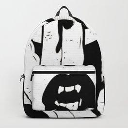 vampire girl's lips Backpack