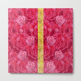 Rose and roses and another rose Metal Print
