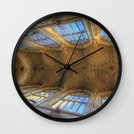 Royal Bath Abbey Ceiling Wall Clock