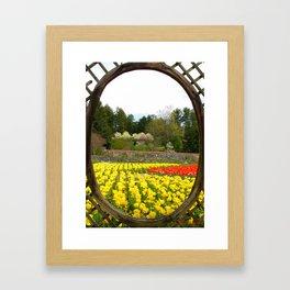 Biltmore Gardens Framed Framed Art Print