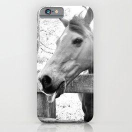 Cheeky Horse iPhone Case