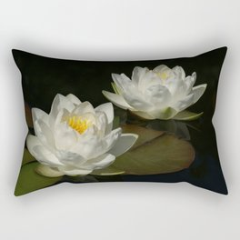 Water Lilys Rectangular Pillow