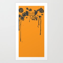 """Control"" Art Print"