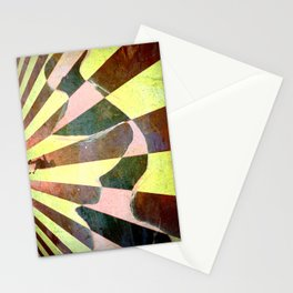 Abstract Tongue Stationery Cards