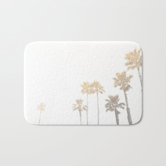 Tranquillity - gold dust Bath Mat