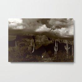 The Old West Metal Print