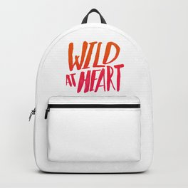 Wild At Heart x Typography Flame Ombre Backpack