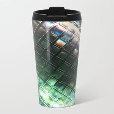 Rainbow pixels Metal Travel Mug