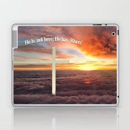 He is not Here; He Has Risen Laptop & iPad Skin