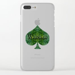 Wildcard Emerald Euphoria Clear iPhone Case