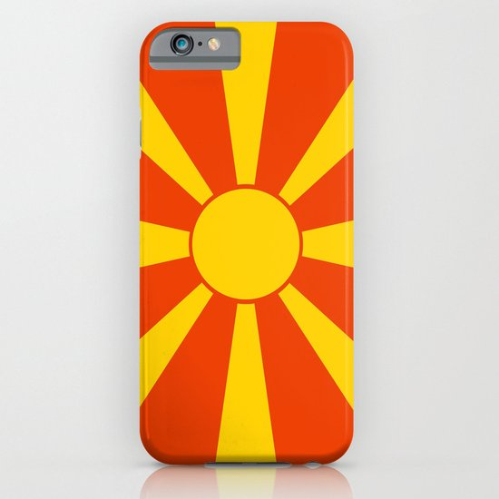 Flag of Macedonia iPhone & iPod Case