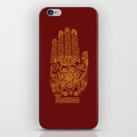 hamsa iPhone & iPod Skins featuring Hamsa by Stranger Designs